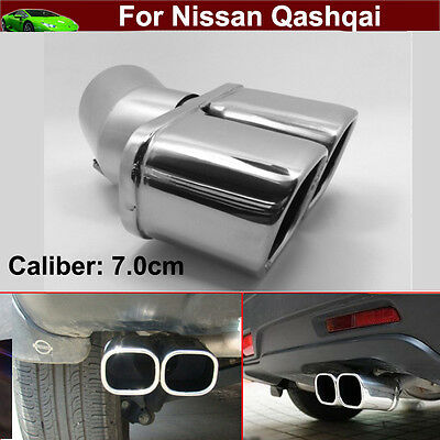 Double Exhaust Muffler Tail Pipe Tailpipe For Nissan Versa Sedan 2011-2018 2019