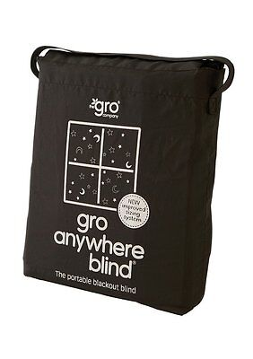 The Gro Company Gro Anywhere Blackout Blind Dark Suction Cup Block Out Light New