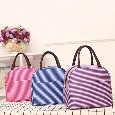 Waterproof Thermal Cooler Insulated Lunch Box Storage Picnic Bag Pouch Portable