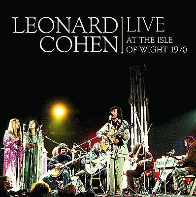 Leonard Cohen - Live At The Isle Of Wight 1970 2x 180g vinyl LP NEW/SEALED