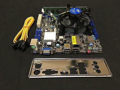 AsRock H61MV-ITX with i3-3220 3.2 GHz and 2GB RAM! Mini Gaming PC Build Project!