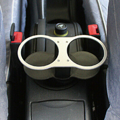 Universal Car Auto Double Wedge Dual Drink Cup Holder Stand Bottle Mount
