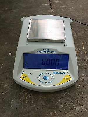 Precision 300g Laboratory Scales, Adam PGL 303, Measures increments of 0.001g