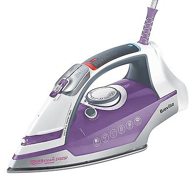 Breville Power Variable Steam And Self Clean Advanced Ceramic Iron And 2400w