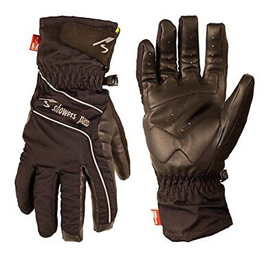 Showers Pass, Guanti impermeabili Hardshell Uomo, Nero (Black), S (P6S)