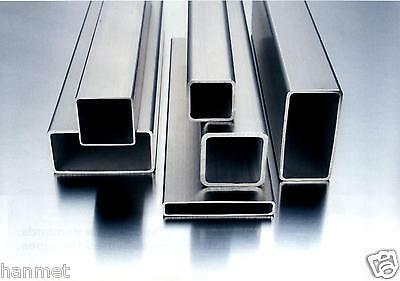 Stainless Steel Rectangular Tube AISI 304  Various Size and Lengths