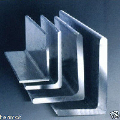 Stainless Steel 304 Angles Size 20-100mm Wall Thick 3-10mm Various  Lengths