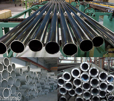 Stainless Steel 304 Round Tube Ø 32-808mm Wall 1-30mm All Dia&Lengths Metalwork
