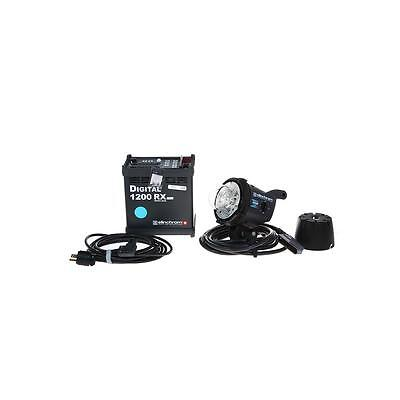 Elinchrom Digital RX 1200 1200w/s Power Pack with Zoom Action Flash Head #874747