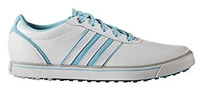 adidas Adicross V, Scarpe da Golf Donna, Bianco (White/Blue Glow/Energy (V4F)