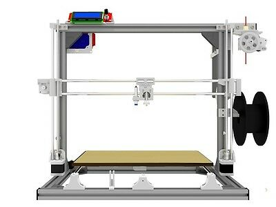 Scalar XL 3D Printer T-slot 3030 aluminum frame 3D printer T-slot box only