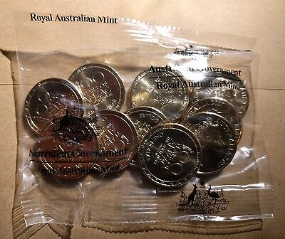 2017 $1 WWI ANZAC LEST WE FORGET 10 COIN MINT BAG in stock
