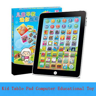 New Tablet Kids Learning Computer Toy Childrens Laptop Educational Toy Game