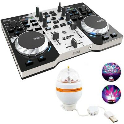 Hercules DJ Control Instinct S DJ Controller Party Pack inkl LED-Light