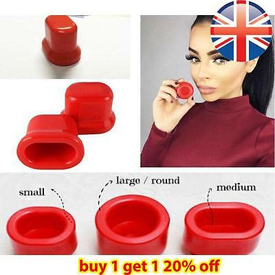 *UK Seller* Natural Lip Plumper Tool Enhancer Pout Full Lips Suction Device