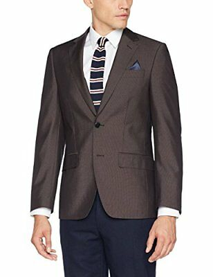 TOM TAILOR 39220640911 Giacca da Uomo, Marrone (after dark brown 8244), (E0b)