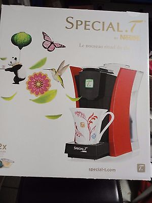Machine A The A Capsule Delonghi Special . T Par Nestle De Couleur Rouge