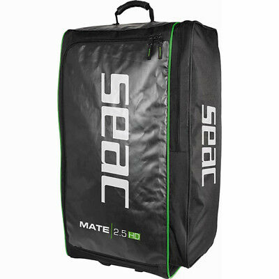 Seac Mate 2.5 HD travel Bag Trolley Holiday Dive Scuba - Strong Sturdy - 126 Ltr