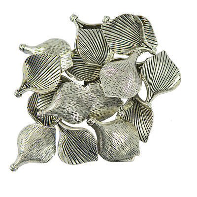 20pcs Tibetan Silver Lily Calla Flower Charms Pendants For Jewelry Making