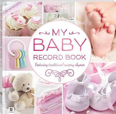 My Baby Record Book:  Baby Memory & Keepsake Journal (Pink)