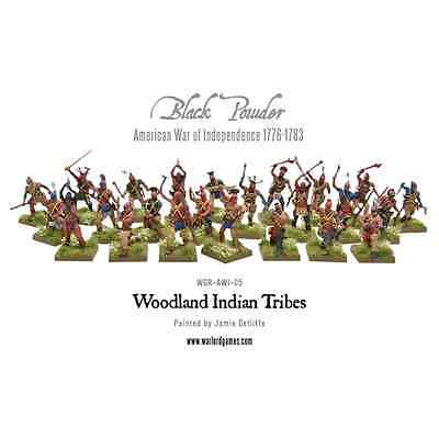 Warlord Games: 28mm; Woodland Indian Tribes (24 miniature)