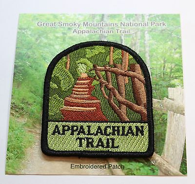 Appalachian Trail Souvenir Patch from Great Smoky Mountains National Park