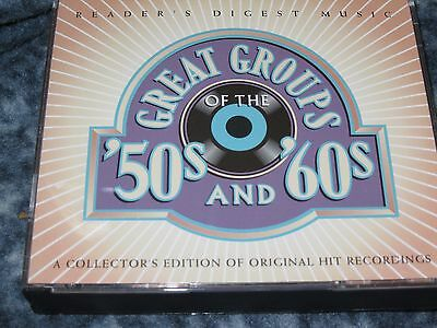 Great Groups Of The '50's & '60's Cd Box Set Reader's Digest Collector's Edition
