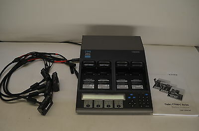 CADEX C7400-C Series Battery Analyzer - 4 Adapters/Smart Cables/Manual *USED 10X