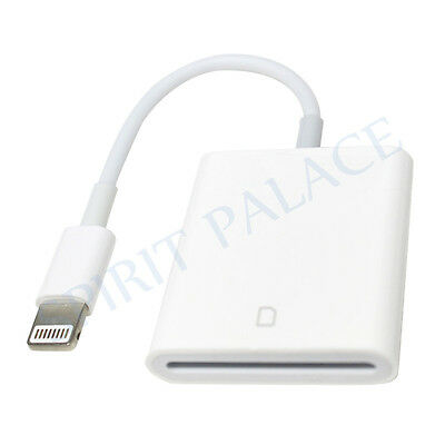 Lightning 8 Pin to SD Card Camera Reader Adapter For iPad Pro 4 iPhone 7 iOS10.3