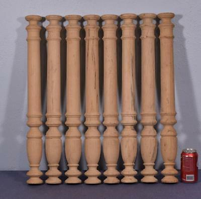 "*25"" Vintage Wood Baluster Posts, Pillars or Columns (8 AVAILABLE)"