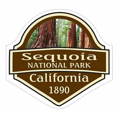 Sequoia National Park Sticker Decal R1457 California YOU CHOOSE SIZE