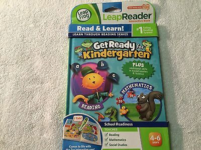 Oem Leapfrog Leapreader Get Ready For Kindergarten - Works With Tag - 4-6 Years