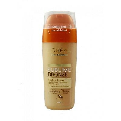L'Oreal Sublime Bronze Double Action Self Tanning Cream for Face 30ML