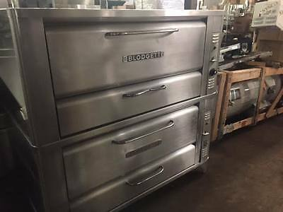 Used Blodgett Pizza Oven Double Deck Pizza Oven Model 951