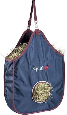 Equi-Theme Equestrian Stable Accessories Horse Feeding Yard New Strong Hay Bag