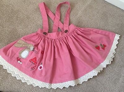 baby girls next skirt with removable belt age 9-12 months