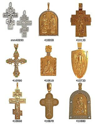set of crosses pendant WAX PATTERNS (#c5) for Lost Wax Casting  Jewelry (9 pcs)