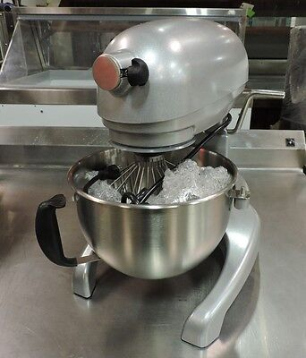 HL6 6 QT Commercial All Purpose Dough Mixer W/ Bowl & 3 Attachments