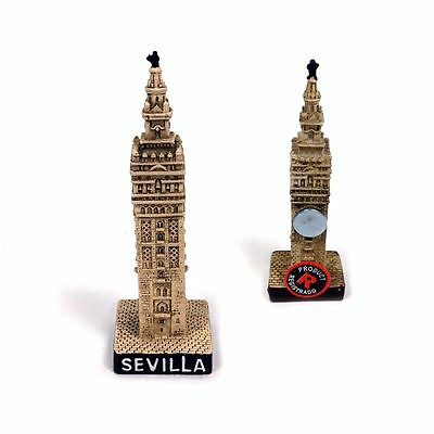 LA GIRALDA fridge magnet SEVILLA spain SOUVENIR monument collection Seville