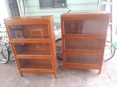 2 Hale Interchangeable Barrister Bookcase Bookcases