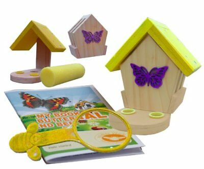 Wildlife World MBFE Minibugs Betty's Butterfly Bistro per le Farfalle (M4B)