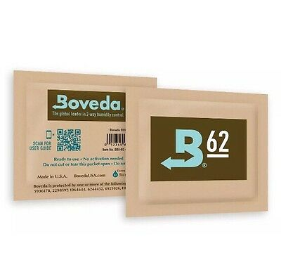 Boveda 62% RH 2-way Humidity Control, 8 gram - 25 Pack