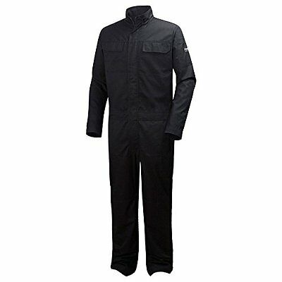 Helly Hansen Workwear lavoro Overall Sheffield Montage Overall, Nero, (a0h)
