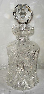 Crystal Lidded Decanter