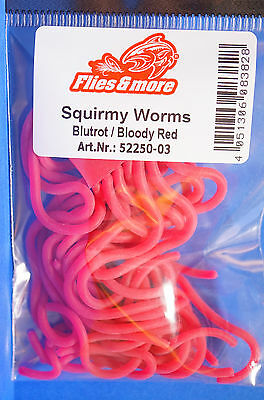 Worm Body blood red Squirmy Worm blood red