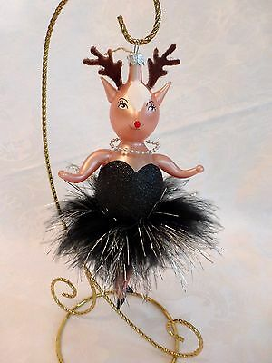 Gumps Reindeer Vixen Ornament
