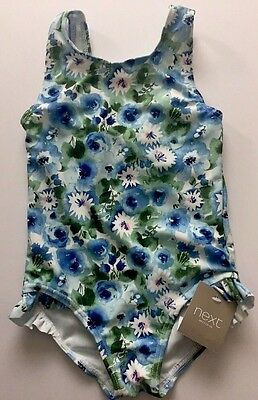 Baby Girl NEW Floral Swimming Costume Swimsuit NEXT Age 12-18 Months
