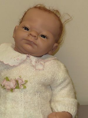 """20"""" Ashton Drake Baby Girl in Sweet, Soft Outfit w/Diaper, So Truly Real -Emily?"""