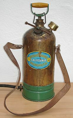 Holder Messing Spritze / Holders original California Baumspritze um 1950
