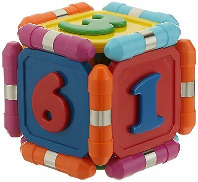 Plastwood 15118 - Kliky Numbers, magnetic construction toys